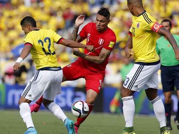 Colombia 2 – 0 Perù